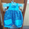 ROMPER SUIT TO FIT NEWBORN TO 3 MONTHS.