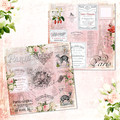 French Ephemera and Patisserie Scrap Paper Printables