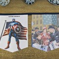 Captain America Birthday Party Bunting Nursery Banner Superhero The Avengers