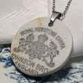 Johnson Bros Backstamp pendant
