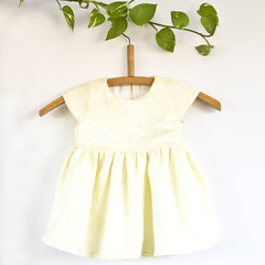 Handmade Silk Toddler Dress Size 1