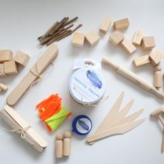 Sensory Squish Builder's Kit