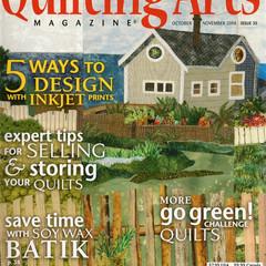 QUILTING ARTS Magazine, October/November 2008, Back Issue 35, Craft Destash