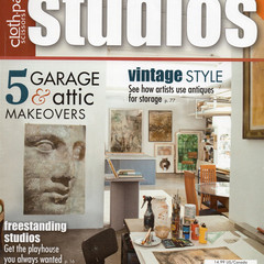 Cloth Paper Scissors, Studios Magazine, Fall 2012, Craft De-stash