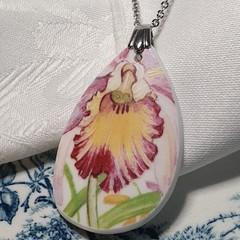 Orchid pendant