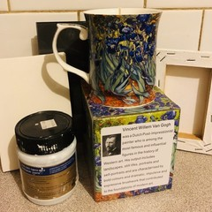Van Gogh Mug Scented  Soy Wax Candle