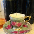 Japanese China Scented  Soy wax  Teacup Candle