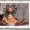 Prim Doll Pattern, Priscilla and Her Pineapple, Craft Destash, Susan Dean