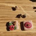 Handmade Earrings - Eucalyptus Blossom Earrings