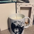 Bob Ross Mug Scented Soy Wax Candle