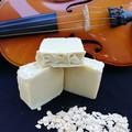 'Oat To Joy' Oat Milk and Rose Geranium Handmade Soap