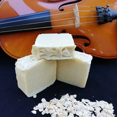 'Oat To Joy' Oat Milk and Rose Geranium Handmade Soap