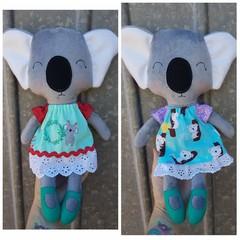 Koala softie, handmade doll