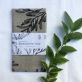 Hand screen printed 'Blackwood' - 100% linen tea towel