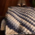 Crochet Blanket for Baby or Adult 80cm Square.