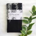 Tasmania's own Huon pine screen printed linen tea towel