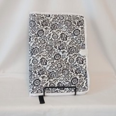 Quilted Fabric Notebook Cover  -  Daisy Dreaming