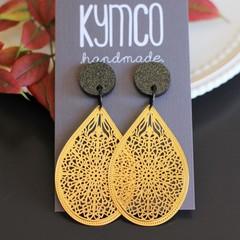 Basic dangle earrings - various colours