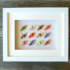 Special occasion gift - Multi Cranes - for good luck