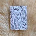 Australian Native Eucalyptus Gum Nut Line Drawing Artwork Blank Card