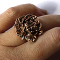 Penny, Peony Adjustable Finger Ring