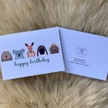 Australian Aussie Animal Kids Children Happy Birthday Card