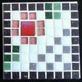 Mosaic Pixel Plus Coaster#3