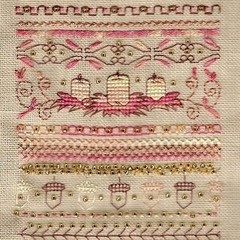 Autumn Fire Sampler by Stacey Tippin for D-D Designs