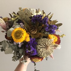 Mixed Dried Native Floral Bouquet