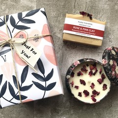 Premium Gift - Choose your 1 Own Soap and Rose Candle