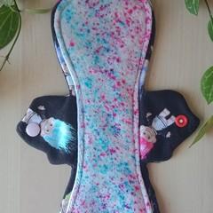 "10"" heavy exposed core cloth pad (Leak Freak Flutter)"
