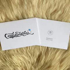 Congratulations Engagement Wedding Put a Ring on It Card
