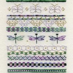 Summer Garden Gate Sampler by Stacey Tippin for D-D Designs
