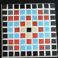 Mosaic Pixel Coaster#9