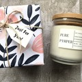 Candle Gift – Soy Candle of your own fragrance