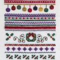 Christmas Holly Sampler by JoAnne Mason for D-D Designs
