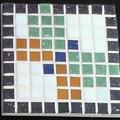Mosaic Pixel Coaster#10