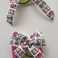 Harry Potter House Inspired Ribbon Bows.