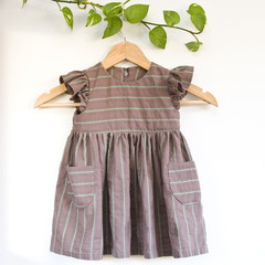 Eco Cotton Toddler Dress Size 2
