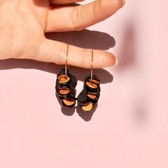 Banksia Seed Hoop Earrings