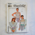 Simplicity 9025 sewing pattern, womens blouse, size 10, UNCUT pattern