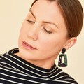 Low Light Plant Earrings