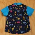 Dino Daze - Boy's Button up Shirt - Size 3
