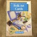 Book - Folk Art Cards by Joyce Spencer