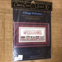 Cross Stitch Stitch - Village Welcome