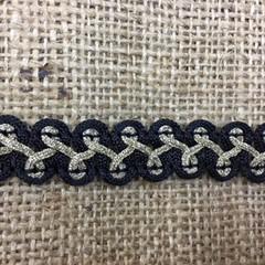 Black/Gold Trim/Braid