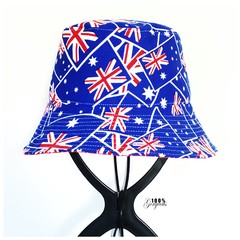 Australia Bucket Hat, Kinder 3 - 6 years