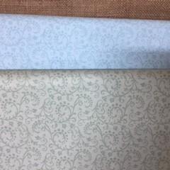 Fabric - Cotton - Scrolls