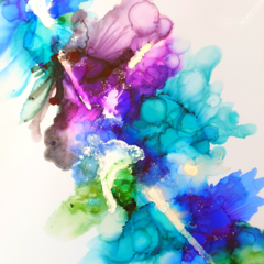 Digital Download - Alcohol Ink Painting