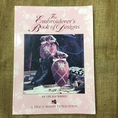 Book - The Embroiderer's Book of Designs by Lee Lockheed